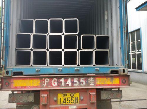 China Nachrichten über 980 Tonnen rechter Seite (nahtlose rechteckige Stahlrohre) versendeten nach Israel für Ormats großes Projekt!