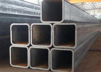 Strukturelles Stahlrohr des Rechteck-ERW Lieferant