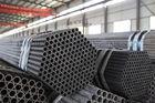 China Runder Flussstahl-Schläuche DIN1629 ST37 ST44 ST52, chemisches mechanisches nahtloser Stahl-Rohr Verteiler