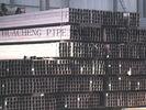 China Starke Wand-rechteckiges Stahlrohr, Gebäudestruktur-Vierkantstahl-Rohr Verteiler