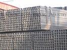 China Kohlenstoffstahl-rechteckiger Schläuche 20# Q195 Q235, kalte Zeichnungs-dünne Wand-Stahlrohr Verteiler
