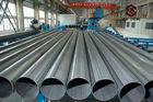 China Warm gewalztes Stahlgasflasche-Rohr API St52 DIN1629 St52 DIN2448 für Bau Verteiler