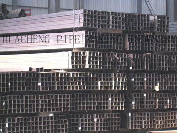 China Starke Wand-rechteckiges Stahlrohr, Gebäudestruktur-Vierkantstahl-Rohrauf Verkäufen